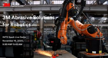 3M Abrasive Solutions for Robotics preview image