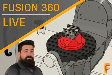 Advanced 5 Axis Milling in Fusion 360 preview image