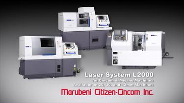 Marubeni Citizen Cincom Laser System L2000 preview image