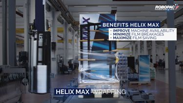 Maximize uptime and products wrapped with NEW Helix MAX automatic stretch wrapper preview image