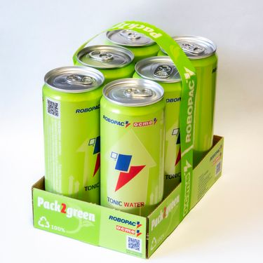 Pack2Green: the plastic-free solution to pack cans at high speed preview image