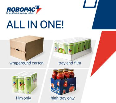 Pack your products in cartons or in trays and film with Prasmatic flexible combination machine preview image