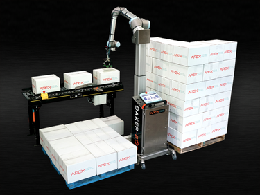 Robotic End of Line Palletizing with a Cobot preview image